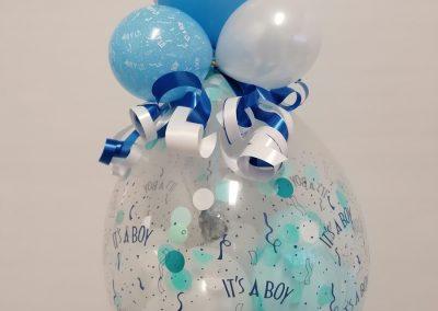 Geschnenkballon zur Geburt