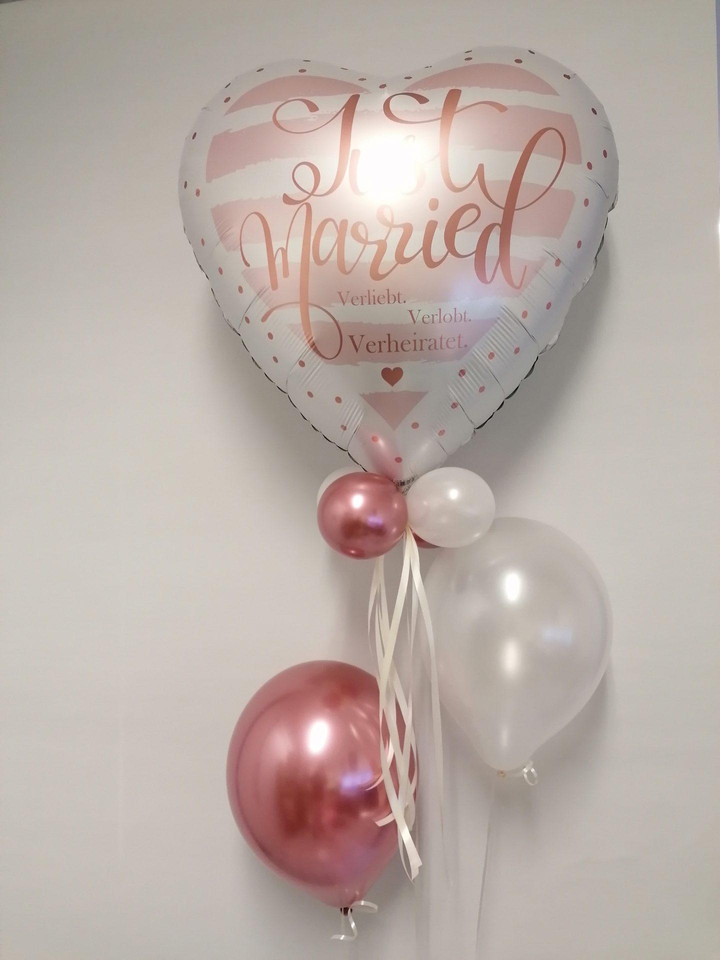 Luftballon Herzform Hochzeit von Feste Feiern in Leverkusen