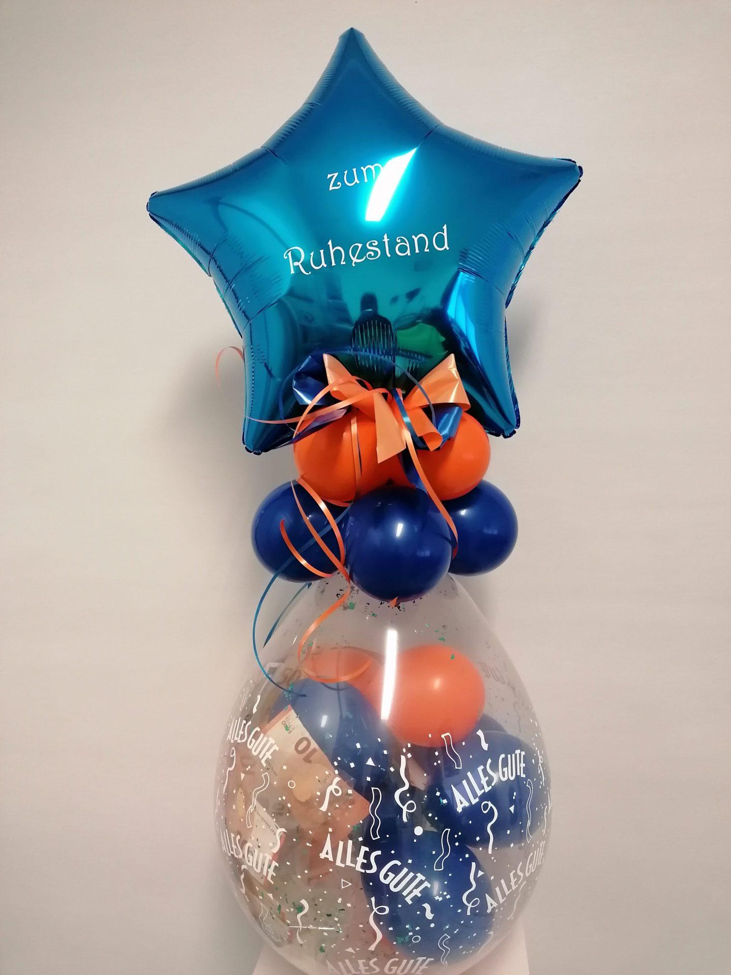 Heliumballon Stern von Feste Feiern in Leverkusen