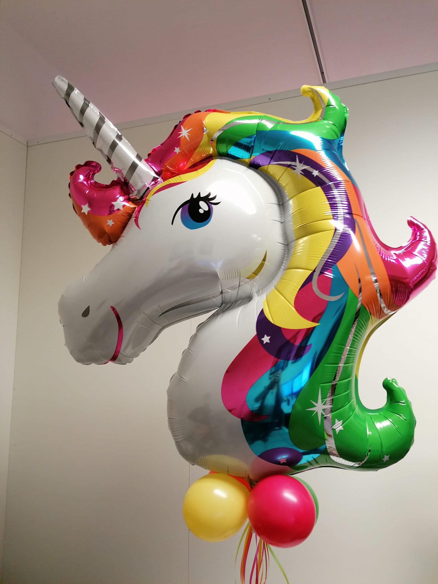 Folienballon Einhorn von Feste Feiern in Leverkusen