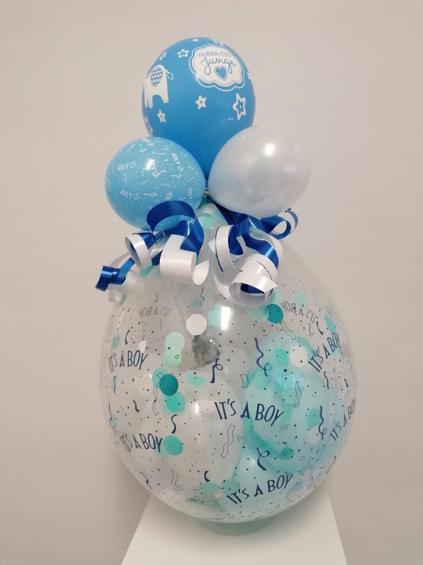 Heliumballon Jungen von Feste Feiern in Leverkusen